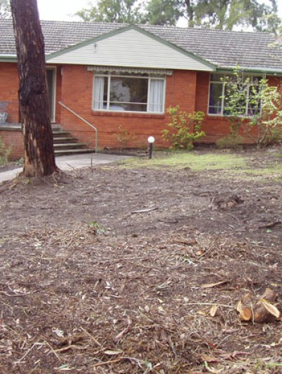 Daly Rd Before lawn installation